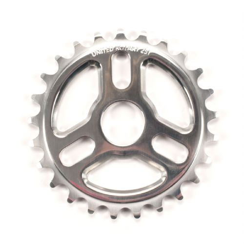 United Rotary Sprocket 25T Polished